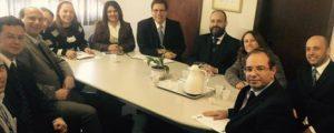 Reunião com a Gerência do INSS