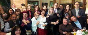 Happy Hour em comemoração aos aniversariantes do mês de maio na Forneria Capannone