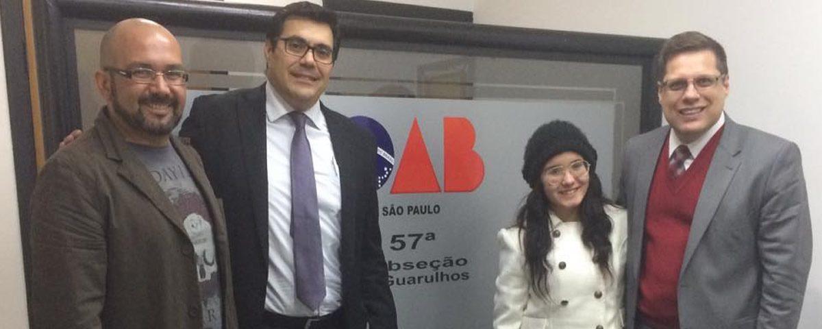 You are currently viewing Visita da presidente da ONG Olhar de Bia