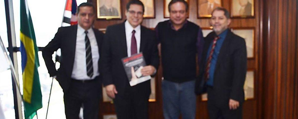 Reunião com dirigentes da SETCESP e SINDICARGAS de Guarulhos