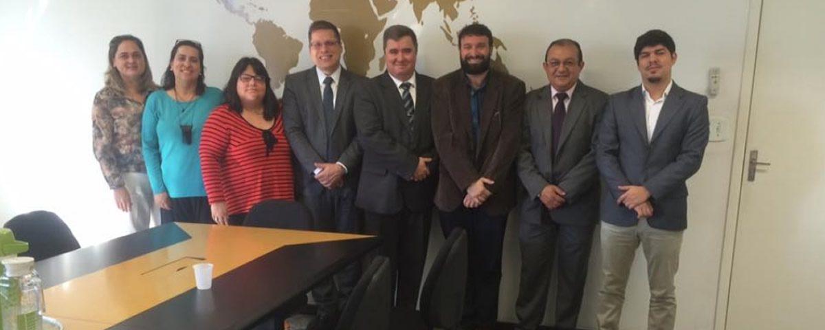 Reunião na Secretaria de Assuntos Jurídicos de Guarulhos