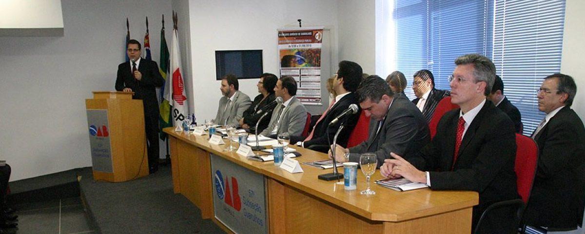 OAB Guarulhos sedia o 5º módulo do VI Circuito Jurídico de Guarulhos