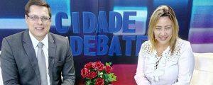Participação do Presidente Alexandre de Sá no Programa Cidade em Debate apresentado por Kassia Franco