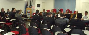 Reunião com os Presidentes de Comissões