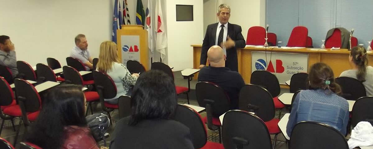 Palestras: Projeto Eleições Limpas