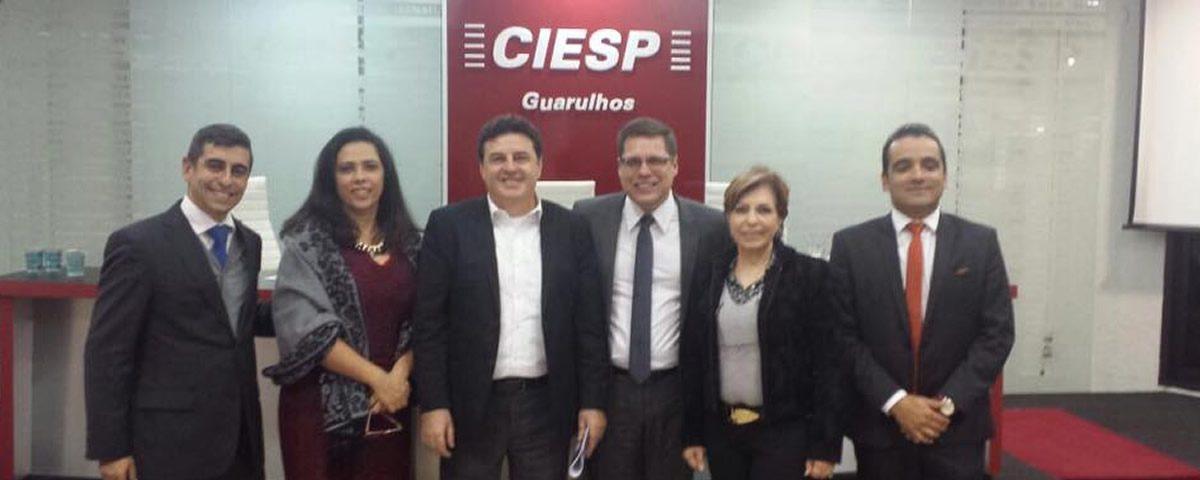 Encontro com candidatos promovido pelo CIESP Guarulhos