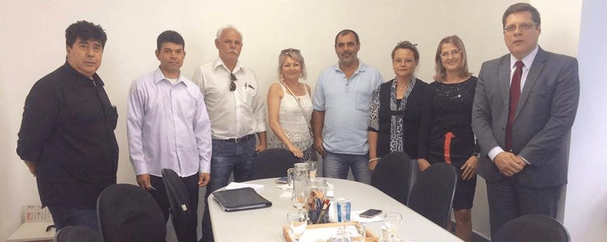Reunião com os Presidentes das CONSEGs de Guarulhos