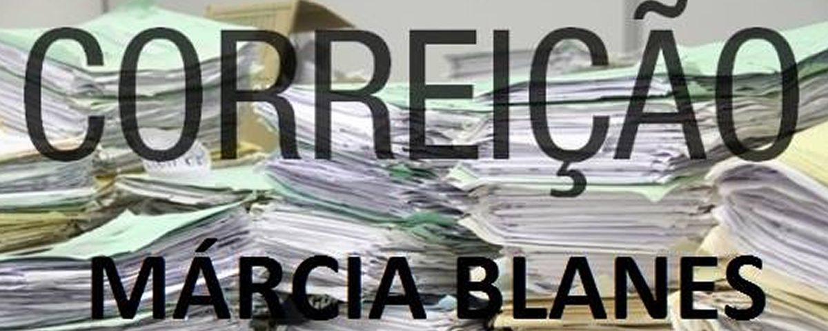 Mobilização Para Correição Marcia Blanes