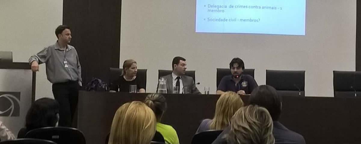 Comissão de Defesa ao Meio Ambiente e Proteção Animal na Associação Comercial e Empresarial de Guarulhos.
