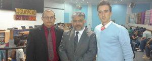 Comissão de Direitos humanos e minorias da OAB Guarulhos esteve presente no plenário da Câmara Municipal de Guarulhos, para acompanhar a situação da ocupação pelos jovens contra a PEC 241 e MP 746.