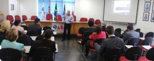 Palestra sobre Marketing para advogados promovido pelo do SEBRAE na OAB Guarulhos.