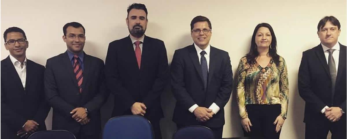 Reunião do Presidente Dr. Alexandre de Sá com o Departamento Cultural da Subseção.