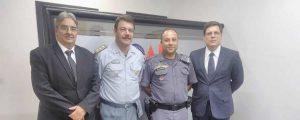 Presidente Alexandre de Sá recebeu a visita de representantes do CPA/M7