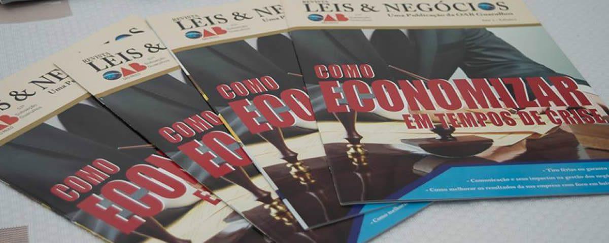 You are currently viewing Lançamento da revista Leis & Negócios, 1ª transmissão Oficial da OAB Guarulhos