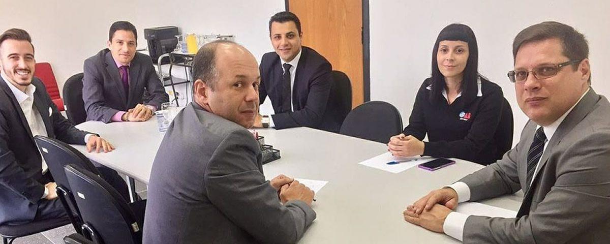 Reunião da Comissão de Comunicação e Assessoria de imprensa da OAB Guarulhos