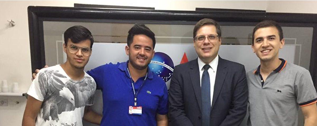 Visita de representantes da Coordenadoria da Juventude do Município de Guarulhos