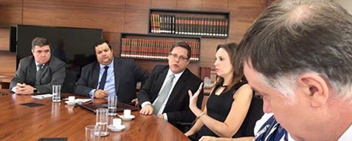 Reunião entre Diretoria da OAB Guarulhos, Conselheiros Seccionais e OABSP