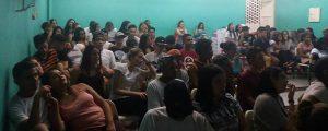 Palestra na Escola Estadual Maria Leda Fernandes Brigo
