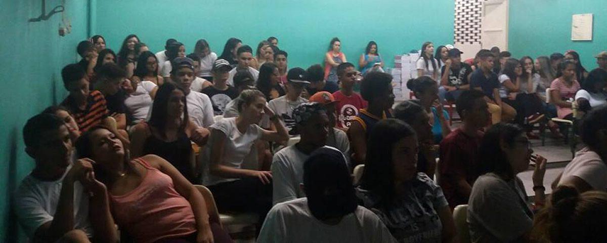 You are currently viewing Palestra na Escola Estadual Maria Leda Fernandes Brigo