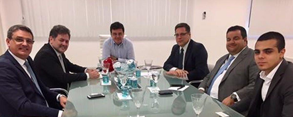 Reunião do Presidente Alexandre de Sá com o Diretor do Ciesp Guarulhos Mauricio Colin