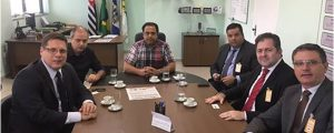 Presidente Alexandre de Sá reuniu-se com o Presidente da ACE Guarulhos William Paneque