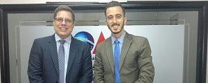 Presidente da OAB reuniu-se com o Presidente da Comissão de Comunicação da OAB