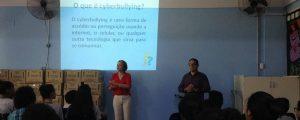 Palestra na Escola Estadual Jardim Nova Cumbica II