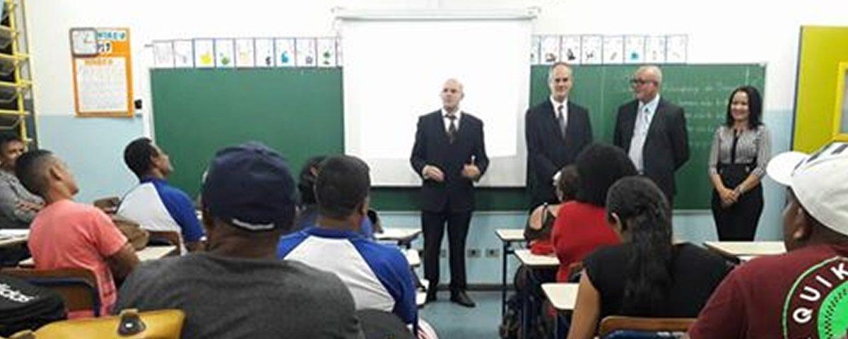 Palestra na Escola EPG Gabriela Mistral – OAB 57ª SUBSEÇÃO