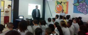 Palestra na Escola Estadual Jardim Cumbica II