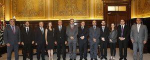 Presidente Alexandre de Sá participou de reunião com o Presidente do Tribunal de Justiça de São Paulo.