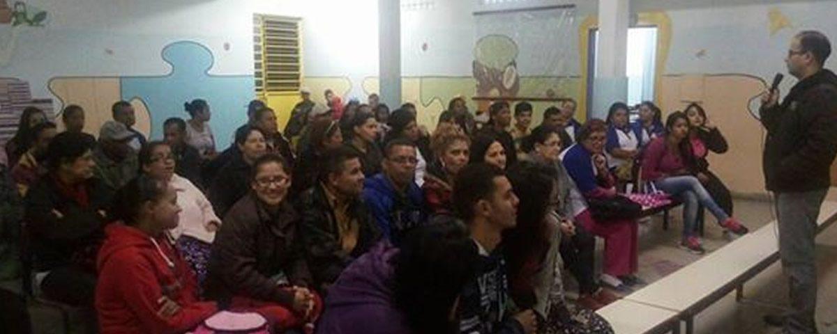 Palestra na na Escola Estadual Gabriela Mistral