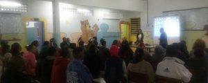 Palestra na Escola Estadual Gabriela Mistral