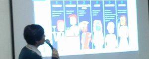 Palestra na Escola Estadual Conjunto Habitacional Bairro dos Pimentas II