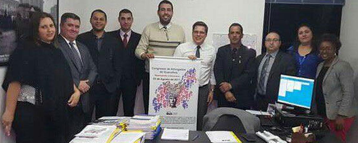 Renião com a comissão organizadora do I Congresso de Advogados de Guarulhos