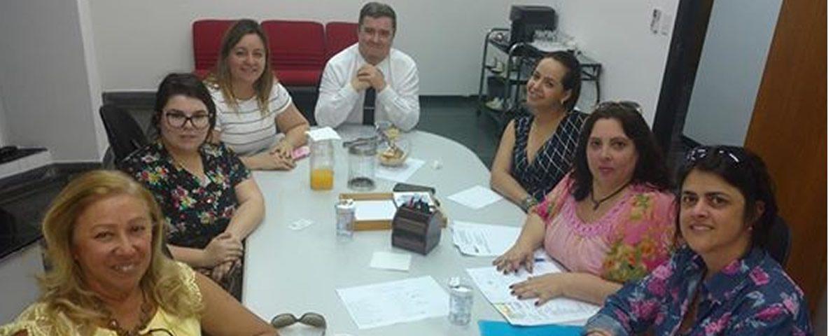 Comissão de Comunicação da OAB, acompanhou mais uma reunião realizada pela Comissão de Festas da OAB na sede da Subseção