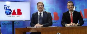 Um grande marco para a OAB 57ª Subseção Guarulhos, iniciaram-se as gravações do programa TV OAB Guarulhos