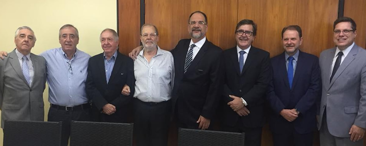 Visita conjunta ao ex-Presidente no período de 1993/1995 DR. Leonildo Zampolli