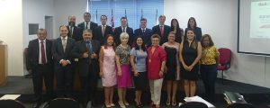 Visita do novo juiz titular do JEF de Guarulhos, Dr. Paulo Marcos Rodrigues de Almeida