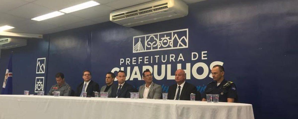Presidente Alexandre de Sá compôs mesa na solenidade de posse do GGIM de Guarulhos