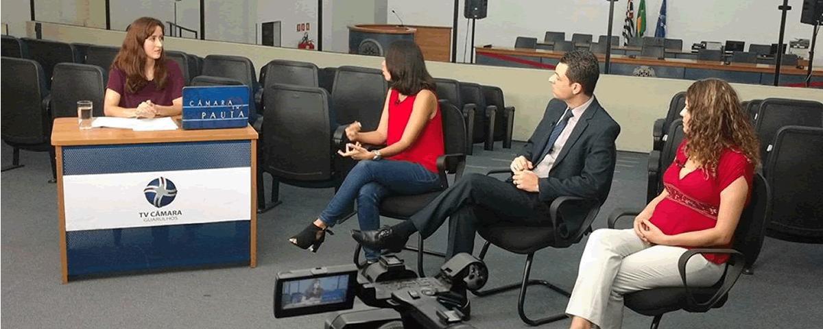 Entrevista na Câmara Municipal de Guarulhos para o Programa Câmara em Pauta