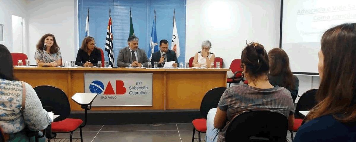 Palestra: Advocacia e vida saudável – como conciliar?