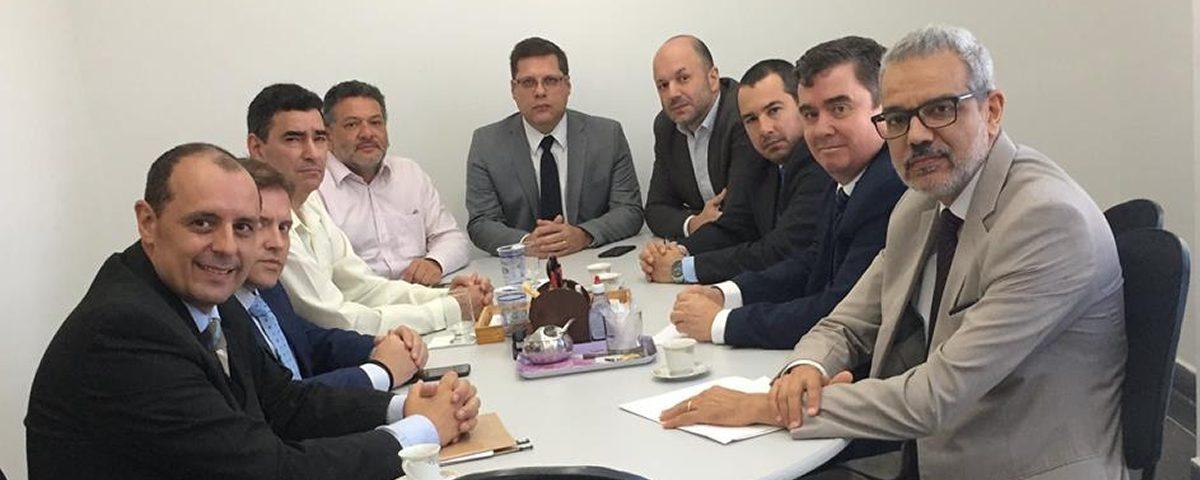 Visita do Vice-Prefeito Municipal, acompanhado de representantes da REDE