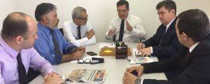 Reunião com a Comissão de Fiscalização de Contas e Obras Públicas
