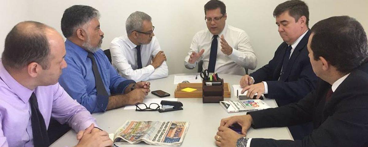 You are currently viewing Reunião com a Comissão de Fiscalização de Contas e Obras Públicas