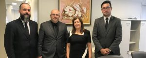 Comissão de Direitos e Prerrogativas da OAB Guarulhos é recebida pela MM Juíza Federal Diretora do Fórum Trabalhista de Guarulhos