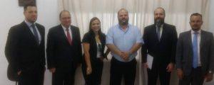 Comissão de Direitos e Prerrogativas da OAB reune-se com o Diretor Geral do CDP II de Guarulhos.