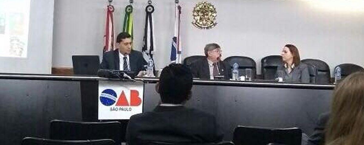 Núcleo de Liberdade Religiosa da OAB Guarulhos participa de palestra na sede da OABSP.