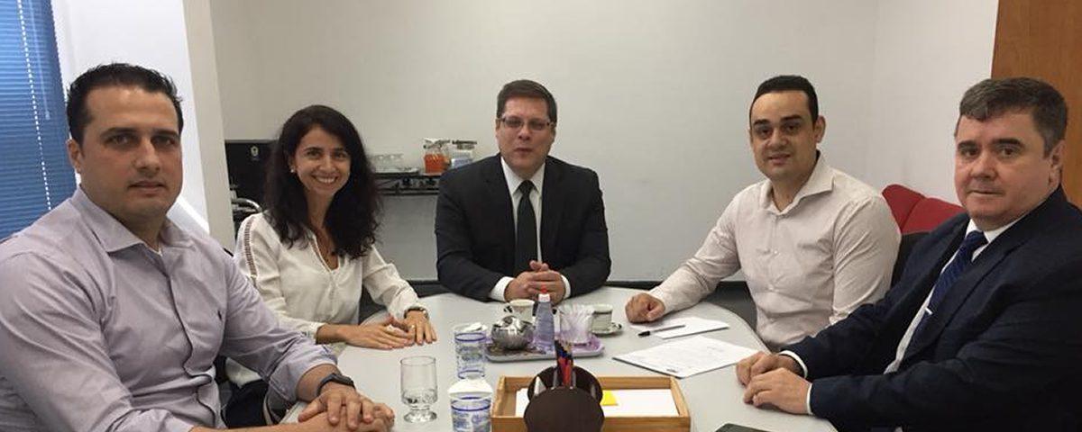 Reunião com o Secretário de Habitação de Guarulhos