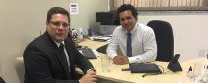 Reunião com o Secretário de Finanças de Guarulhos
