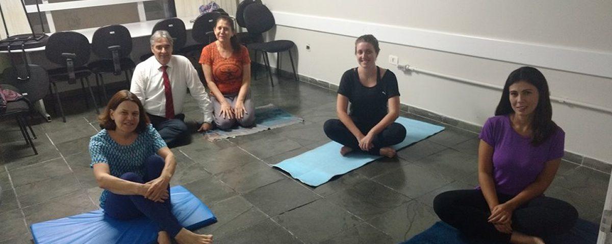 Início das aulas de Yoga e Teatro na OAB Guarulhos